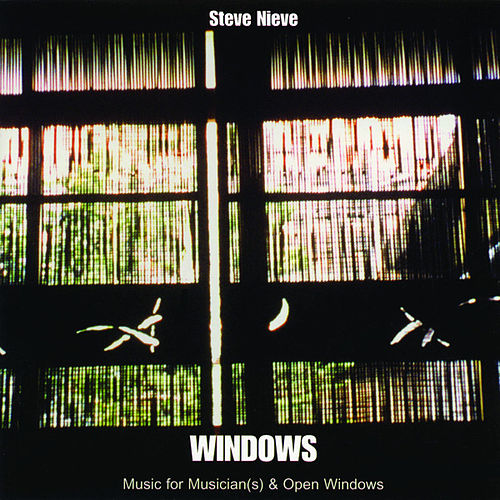 Windows (Music For Musician(s) & Open Windows) von Steve Nieve