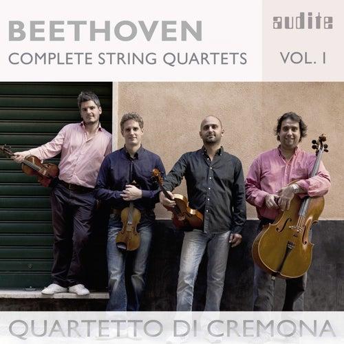 Ludwig van Beethoven: Complete String Quartets, Vol.1 (String Quartets No. 6, Op. 18, No. 11, Op. 95 & No. 16, Op. 135) by Quartetto di Cremona