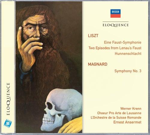 Liszt: Eine Faust-Symphonie; Magnard: Symphony No.3 von Werner Krenn