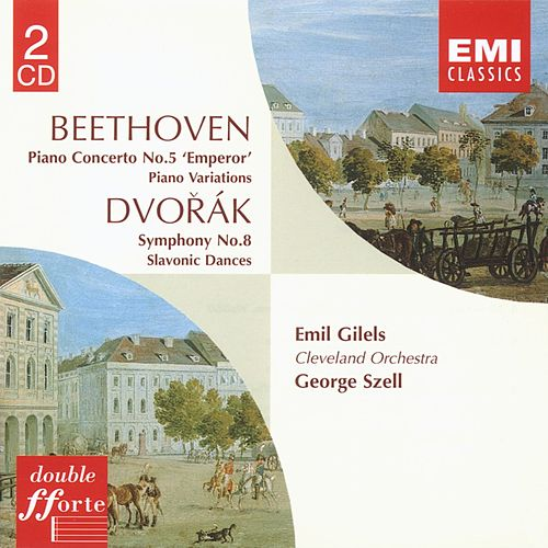 Beethoven Piano Concerto No. 5. Variations. Dvorák Symphony No. 8 by George Szell