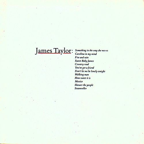 Greatest Hits by James Taylor