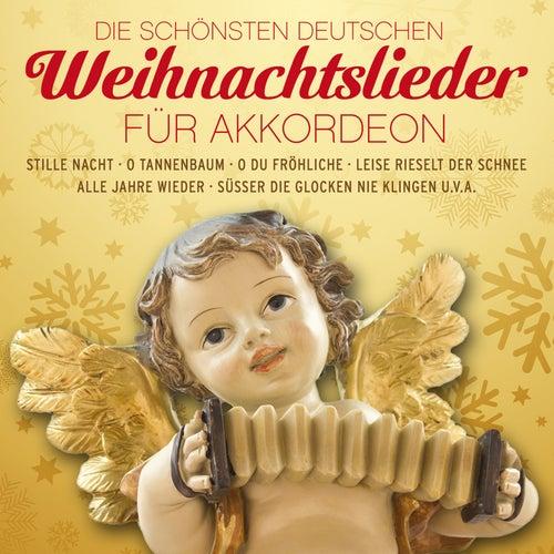 Die schönsten deutschen Weihnachtslieder für Akkordeon von Weihnachtslieder