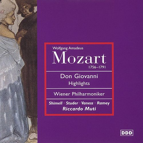 Mozart - Don Giovanni (highlights) von Wiener Philharmoniker