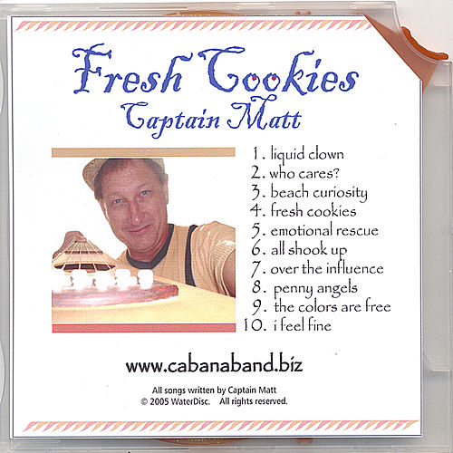 Fresh Cookies by Captain Matt