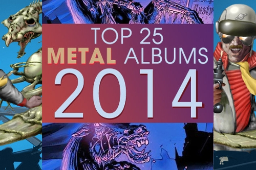 Top 25 Metal Albums of 2014