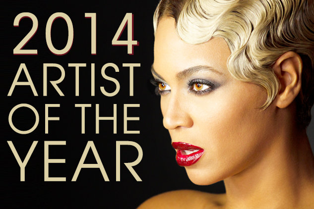 2014 Artist of the Year: Beyonce