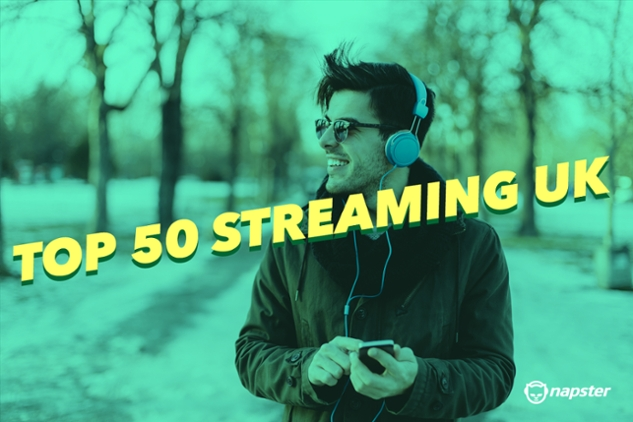 Top 50 Streaming UK