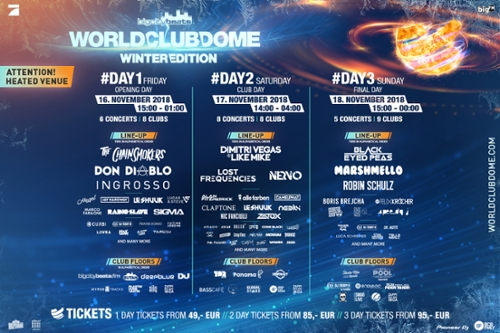 World Club Dome Winter Edition