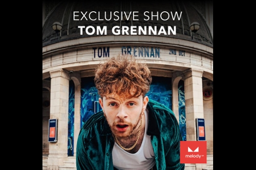 Experience Tom Grennan Live with MelodyVR