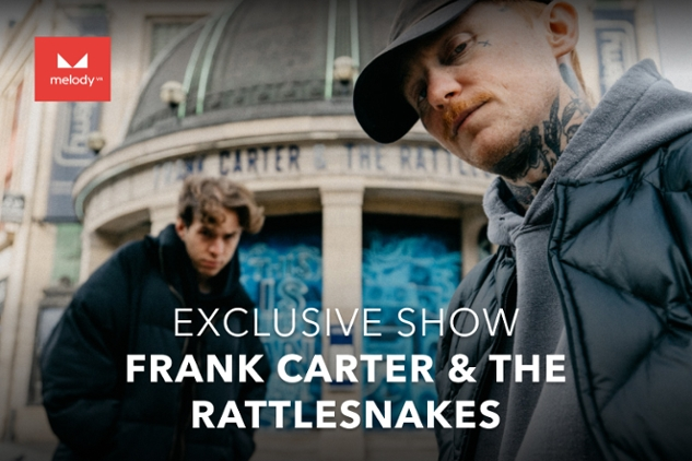 Provate Frank Carter & The Rattlesnakes con MelodyVR