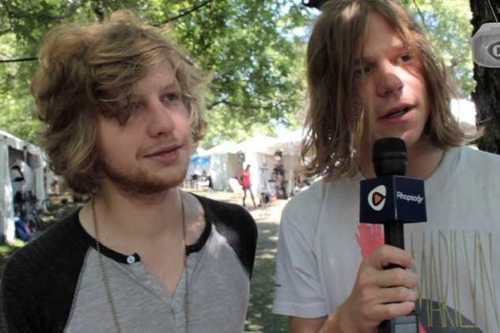 Cage The Elephant Talk Video Games At Lollapalooza (Video Interview)
