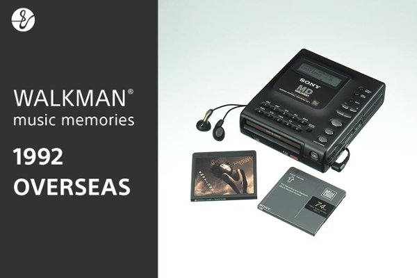 1992 OVERSEAS WALKMAN® music memoriesの画像